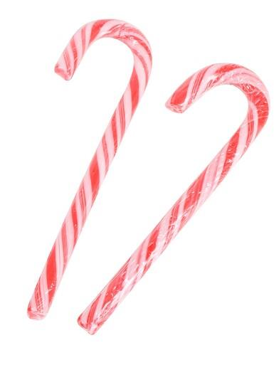 Image of Traditional Candy Cane Lollies - 12 pack