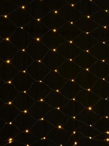 Image of 180 Warm White LED Concave Bulb Net Light - 1.8m