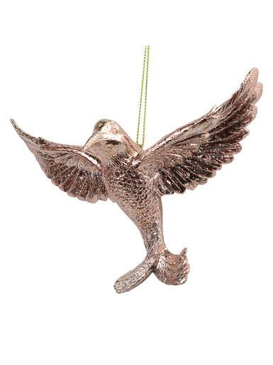Image of Pink Hummingbird Hanging Ornament - 13cm