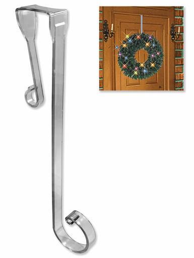 Image of Plastic Wreath Hook Door Accessory - 34cm