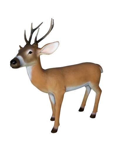Image of Resin Life Like Reindeer Decor - 1.1m