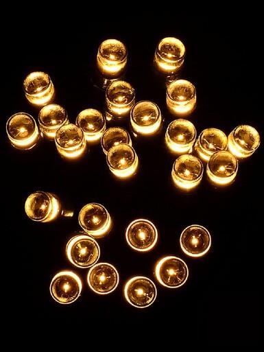 Image of 300 Warm White LED String Fairy Lights - 15m