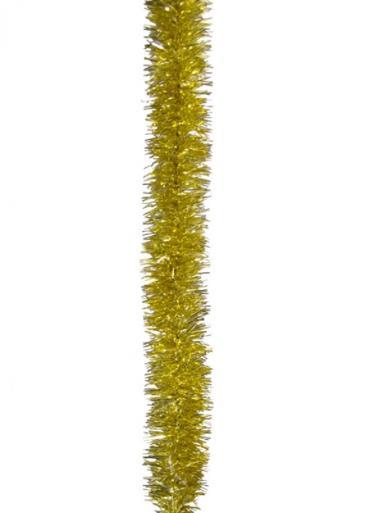 Image of Gold Metallic 6ply Tinsel Garland - 50mm x 5m