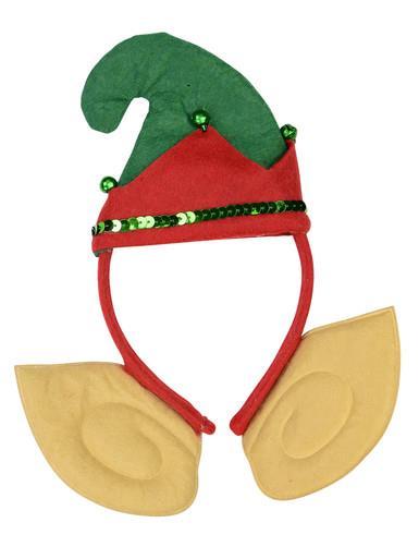 Image of Elf Hat & Ears Headband - 24cm