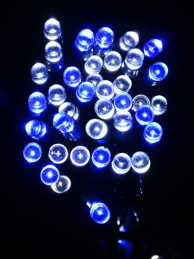 Image of 1000 Blue & White LED String Light - 50m