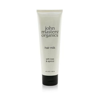 John Masters Organics Hair Milk with Rose & Apricot 118ml/4oz Hair Care