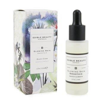Edible Beauty -B- Glowing Skin Smoothie Booster Serum - Protect & Smooth 30ml/1oz Skincare