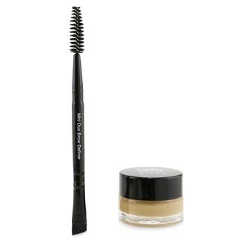 Billion Dollar Brows Brow Butter Pomade Kit: Brow Butter Pomade + Mini Duo Brow Definer - # Blonde 2pcs Make Up