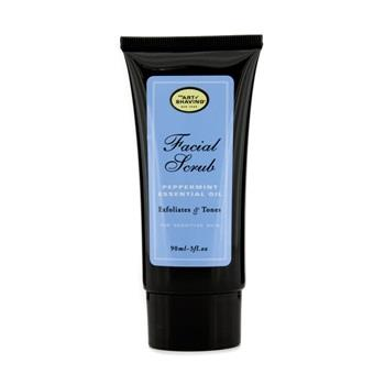 Image of The Art Of Shaving Facial Scrub Peppermint Essential Oil For Sensitive Skin 90ml/3oz Men's Skincare