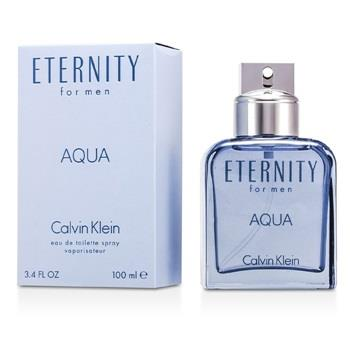 Calvin Klein Eternity Aqua Eau De Toilette Spray 100ml/3.4oz Men's Fragrance