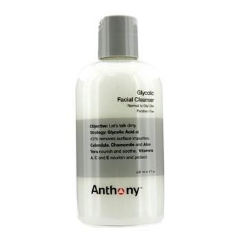 Anthony Logistics For Men Glycolic Facial Cleanser - For Normal/ Oily Skin 237ml/8oz Men's Skincare