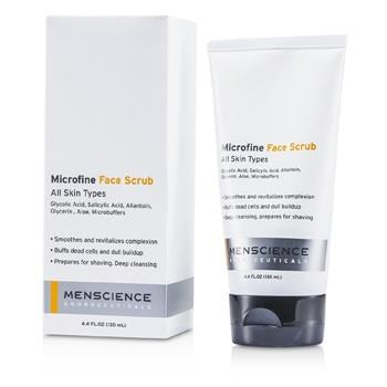 Menscience Microfine Face Scrub 130ml/4.4oz Men's Skincare