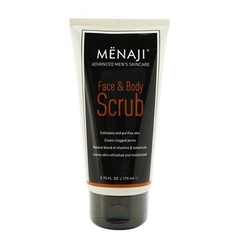 Menaji Face & Body Scrub 170ml/5.75oz Men's Skincare