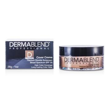 Dermablend Cover Creme Broad Spectrum SPF 30 (High Color Coverage) - Yellow Beige 28g/1oz Make Up