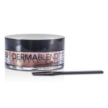 Dermablend Cover Creme Broad Spectrum SPF 30 (High Color Coverage) - Toasted Brown 28g/1oz Make Up