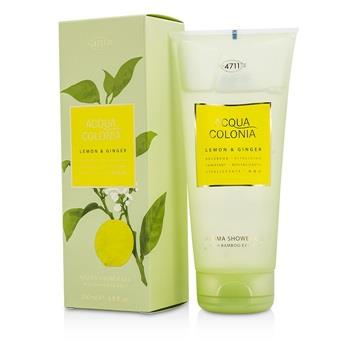 4711 Acqua Colonia Lemon & Ginger Aroma Shower Gel 200ml/6.8oz Men's Fragrance