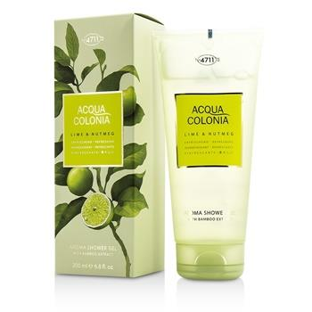 4711 Acqua Colonia Lime & Nutmeg Aroma Shower Gel 200ml/6.8oz Men's Fragrance