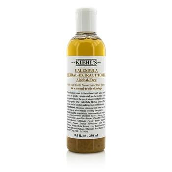 Kiehl's Calendula Herbal Extract Alcohol-Free Toner - For Normal to Oily Skin Types 250ml/8.4oz Skincare