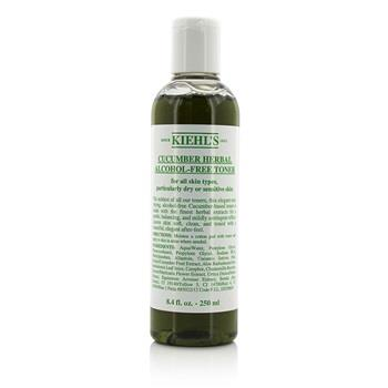 Kiehl's Cucumber Herbal Alcohol-Free Toner - For Dry or Sensitive Skin Types 250ml/8.4oz Skincare
