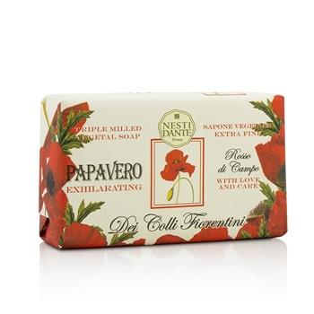 Nesti Dante Dei Colli Fiorentini Triple Milled Vegetal Soap - Poppy 250g/8.8oz Skincare