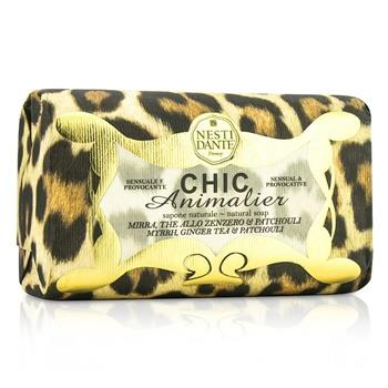 Nesti Dante Chic Animalier Natural Soap - Myrrh, Ginger Tea & Patchouli 250g/8.8oz Skincare
