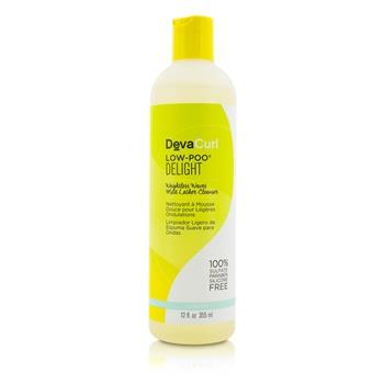 Image of Devacurl Low-poo Delight Weightless Waves Mild Lather Cleanser For Wavy Hair 355ml/12oz Hair Care