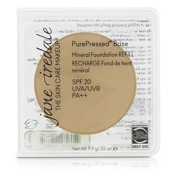 Jane Iredale PurePressed Base Mineral Foundation Refill SPF 20 - Natural 9.9g/0.35oz Make Up