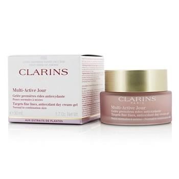 Image of Clarins Multi-active Day Targets Fine Lines Antioxidant Day Cream-gel For Normal To Combination Skin 50ml/1.7oz Skincare