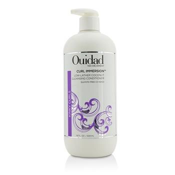 Ouidad Curl Immersion Low-Lather Coconut Cleansing Conditioner (Kinky Curls) 500ml/16oz Hair Care