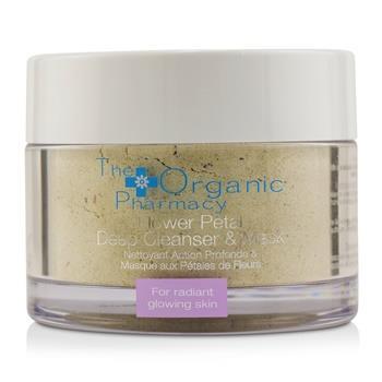 The Organic Pharmacy Flower Petal Deep Cleanser & Mask - For Radiant Glowing Skin 60g/2.14oz Skincare