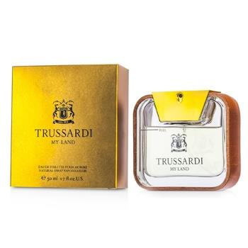 Trussardi My Land Eau De Toilette Spray 50ml/1.7oz Men's Fragrance