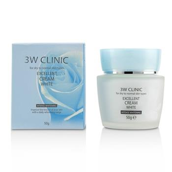 3W Clinic Excellent White Cream (Intensive Whitening) - For Dry to Normal Skin Types 50g/1.7oz Skinc