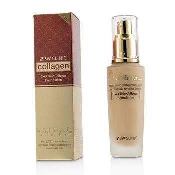 3W Clinic Collagen Foundation - # 23 (Natural Beige) 50ml/1.67oz Make Up