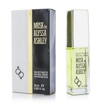 Alyssa Ashley Musk Eau De Toilette Spray 25ml/0.85oz Ladies Fragrance