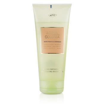 4711 Acqua Colonia White Peach & Coriander Aroma Shower Gel 200ml/6.8oz Ladies Fragrance
