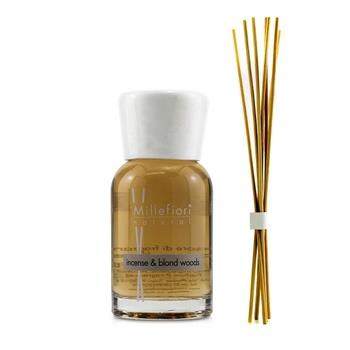 Millefiori Natural Fragrance Diffuser - Incense & Blond Woods 100ml/3.38oz Home Scent
