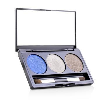 Laura Geller Baked Cream Glaze Trio Eyshadow Palette With Brush - # Sandy Lagoon 3g/0.1oz Make Up