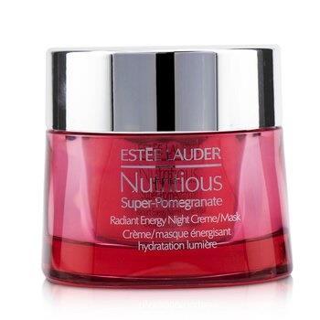 Estee Lauder Nutritious Super-Pomegranate Radiant Energy Night Creme/ Mask 50ml/1.7oz Skincare