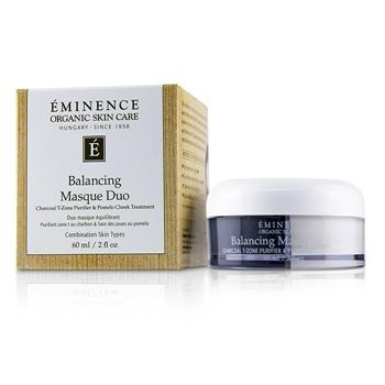 Eminence Balancing Masque Duo: Charcoal T-Zone Purifier & Pomelo Cheek Treatment - For Combination Skin Types 60ml/2oz Skincare