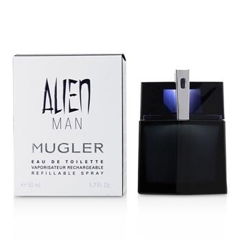 Thierry Mugler (Mugler) Alien Man Eau De Toilette Refillable Spray 50ml/1.7oz Men's Fragrance