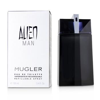 Thierry Mugler (Mugler) Alien Man Eau De Toilette Refillable Spray 100ml/3.4oz Men's Fragrance