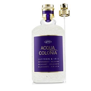 4711 Acqua Colonia Saffron & Iris Eau De Cologne Spray 170ml/5.7oz Ladies Fragrance