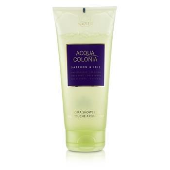 4711 Acqua Colonia Saffron & Iris Aroma Shower Gel 200ml/6.8oz Ladies Fragrance