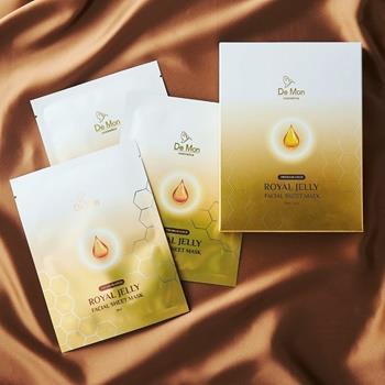 DeMon Gold Royal Jelly Facial Sheet Mask 5x25ml/0.8oz Skincare