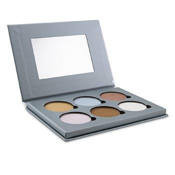 Bellapierre Cosmetics Glowing Palette 2 (6x Illuminator) 17.28g/0.6oz Make Up