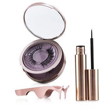 SHIBELLA Cosmetics Magnetic Eyeliner & Eyelash Kit - # Romance 3pcs Make Up