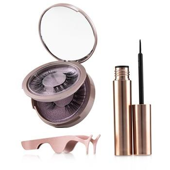 SHIBELLA Cosmetics Magnetic Eyeliner & Eyelash Kit - # Attraction 3pcs Make Up