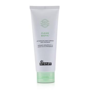 Dr. Brandt Clean Biotic PH-Balanced Yogurt Cleanser with Chlorophyll 105ml/3.5oz Skincare