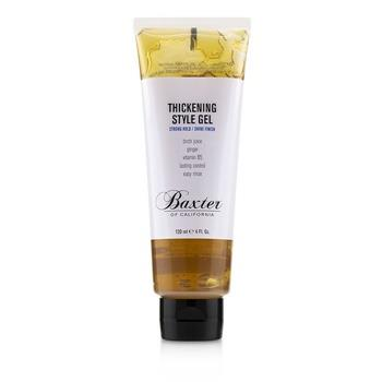 Baxter Of California Thickening Style Gel (Strong Hold/ Shine Finish) 120ml/4oz Hair Care