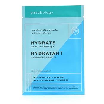 Patchology FlashMasque 5 Minute Sheet Mask - Hydrate 4x28ml/0.95oz Skincare